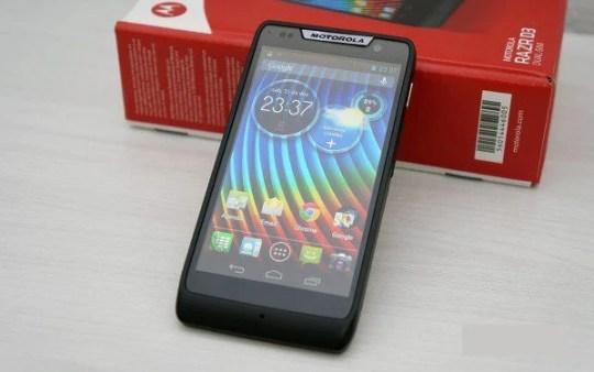 Motorola Razr D3 também tem upgrade garantido para o Android 4.4