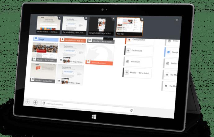 Firefox for Windows 81 720x463 - Firefox recebe beta com interface otimizada para Windows 8