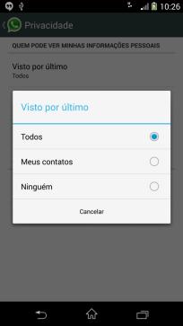 Screenshot 2014 02 21 10 26 25 562x1000 - Nova atualização do WhatsApp oculta última conexão