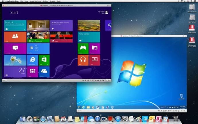 Windows Mac Parallels 720x450 - Especial: A vida com um Mac - Usando Windows com um Mac