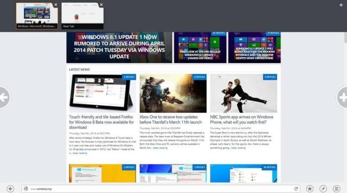 r1 c1ff28b 720x401 - Firefox recebe beta com interface otimizada para Windows 8