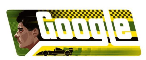 Captura de Tela 2014 03 21 às 12.08.56 - Google homenageia o piloto Ayrton Senna