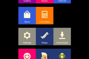 Nokia X Launcher Windows Phone Like 1 - Fazendo o caminho contrário: apps do Nokia X portados para qualquer Android