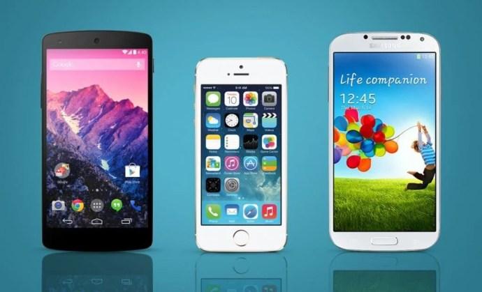 google nexus 5 iphone 5s galaxy s5 4G LTE brasileiro brasil 720x438 - Dúvida: quais iPhones e Androids possuem suporte ao 4G brasileiro?
