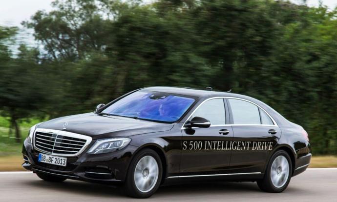 Conheça o S500 Intelligent Drive, protótipo de carro autônomo da Mercedes Benz 5