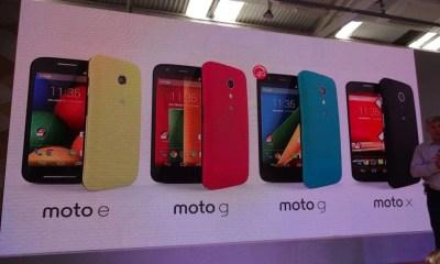 Moto G 4GMoto E Motorola aparelhos Brasil
