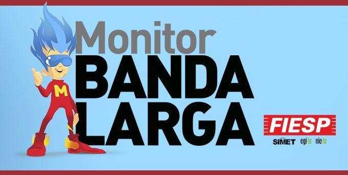 Monitor Banda Larga da Fiesp