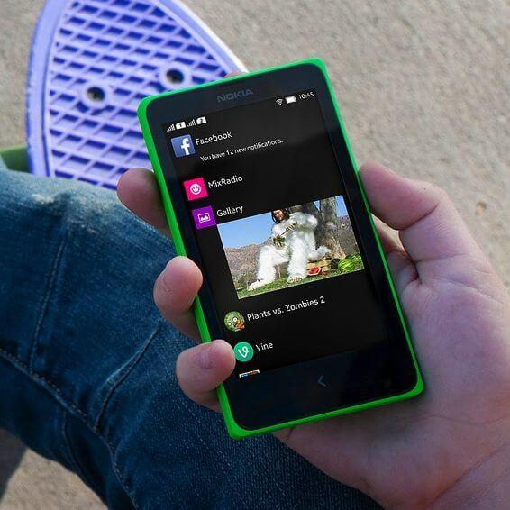 Nokia X / reprodução