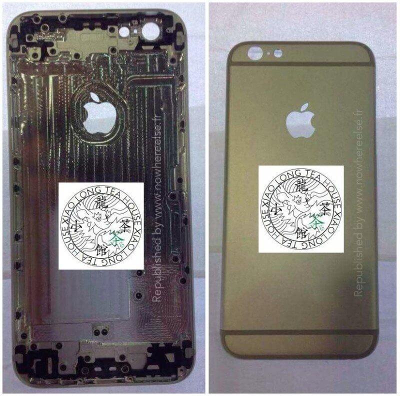 iPhone 6 Traseira - iPhone 6: vazam fotos de suposta parte traseira