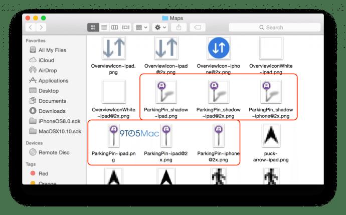maps parking 720x448 - iOS 8: descobertos recursos não anunciados pela Apple