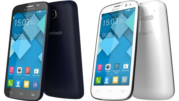Alcatel One Touch Pop C3 e C5 - Alcatel apresenta novos smartphones dual chip com TV Digital e câmera frontal