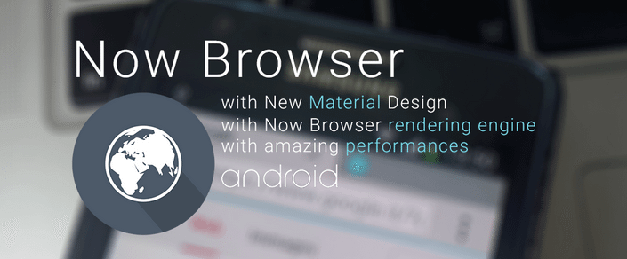 Now Browser Material