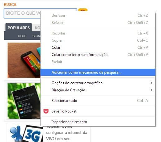 Google Busca SMT 01 - Adicione os sites que você visita como fonte de busca no Chrome
