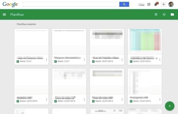 Google Documentos Planilhas e Apresentacoes ganham nova cara com Material Design Apresentacoes - Google Documentos, Planilhas e Apresentações ganham nova cara com Material Design