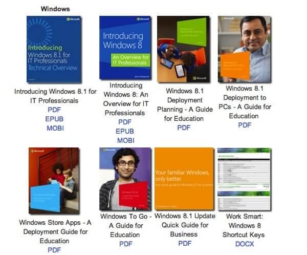 Microsoft Ebooks Gratuitos - Microsoft compartilha quase 300 ebooks sobre tecnologia de graça (em inglês)