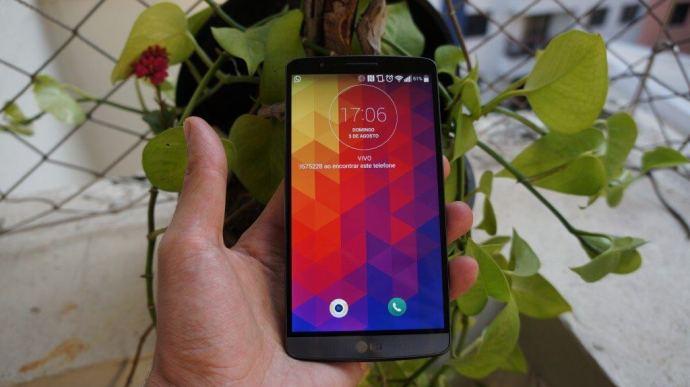 DSC03798 720x404 - Review: smartphone LG G3, a revolução da LG