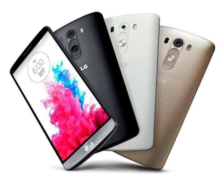 LG G3 Cores 720x575 - MWC15: iPhone 6 e LG G3 vencem o Global Mobile Awards