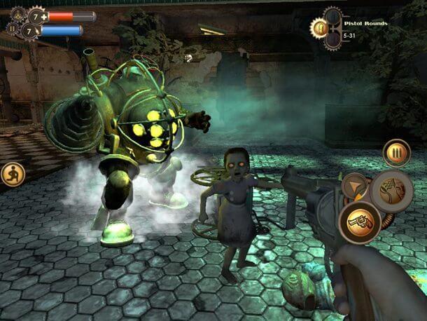 bioshockios 610 viagameinformer - Bioshock para iOS chega hoje à noite