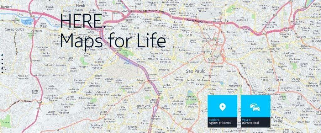here capa - Nokia anuncia Here Maps para Samsung Galaxy e Gear S