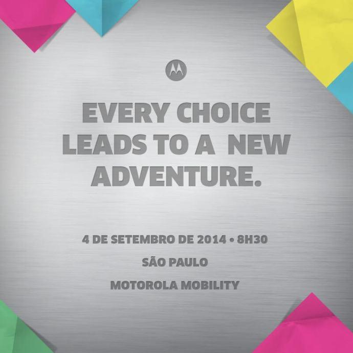 motorola anuncia data lancamento aparelhos 720x720 - Moto G+1 e Moto X+1 devem chegar ao Brasil em 4 de setembro