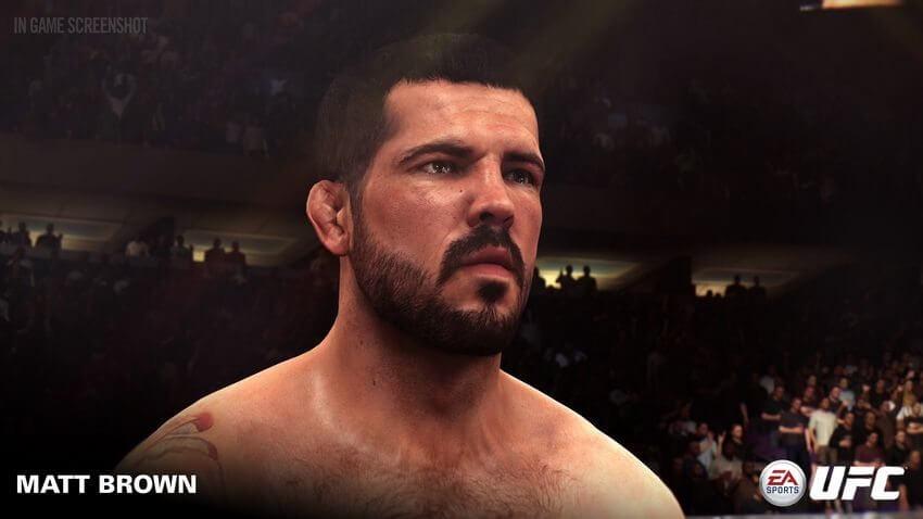 ufc matt brown 01 - Jogo UFC da EA Sports recebe três novos lutadores