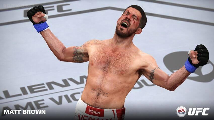 ufc matt brown 02 - Jogo UFC da EA Sports recebe três novos lutadores