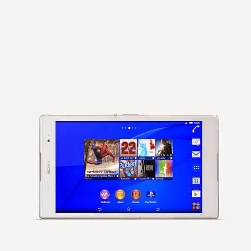 06 Xperia Z3 Tablet Compact White - Sony apresenta Xperia Z3, SmartBand Talk e SmartWatch 3 na IFA