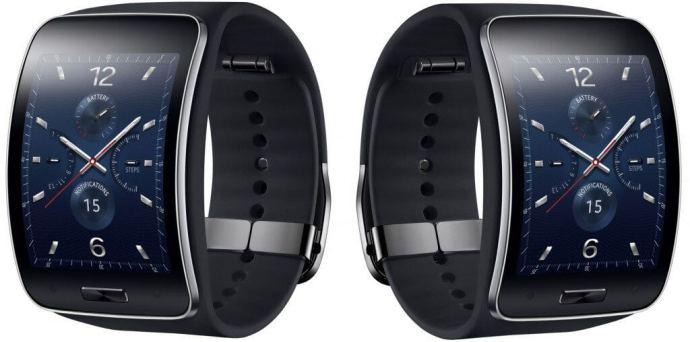 gear s black 720x357 - Samsung lança o smartwatch Gear S e apresenta o Gear Circle, headset bluetooth