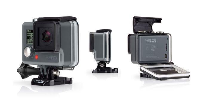 gopro hero - GoPro lança nova linha de câmeras