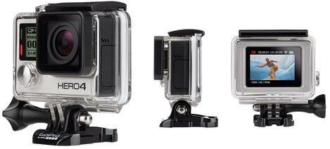 gopro hero4 silver - GoPro lança nova linha de câmeras