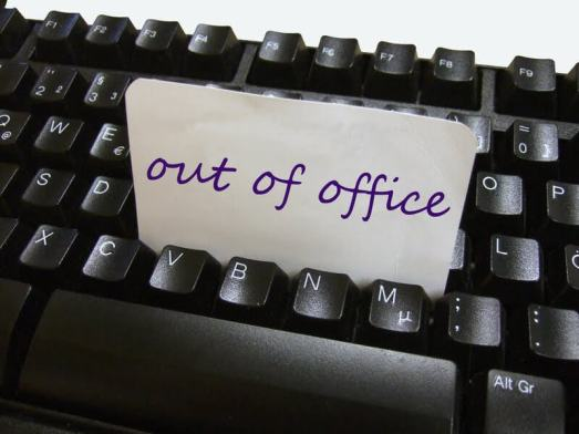 Out-of-Office e-mail