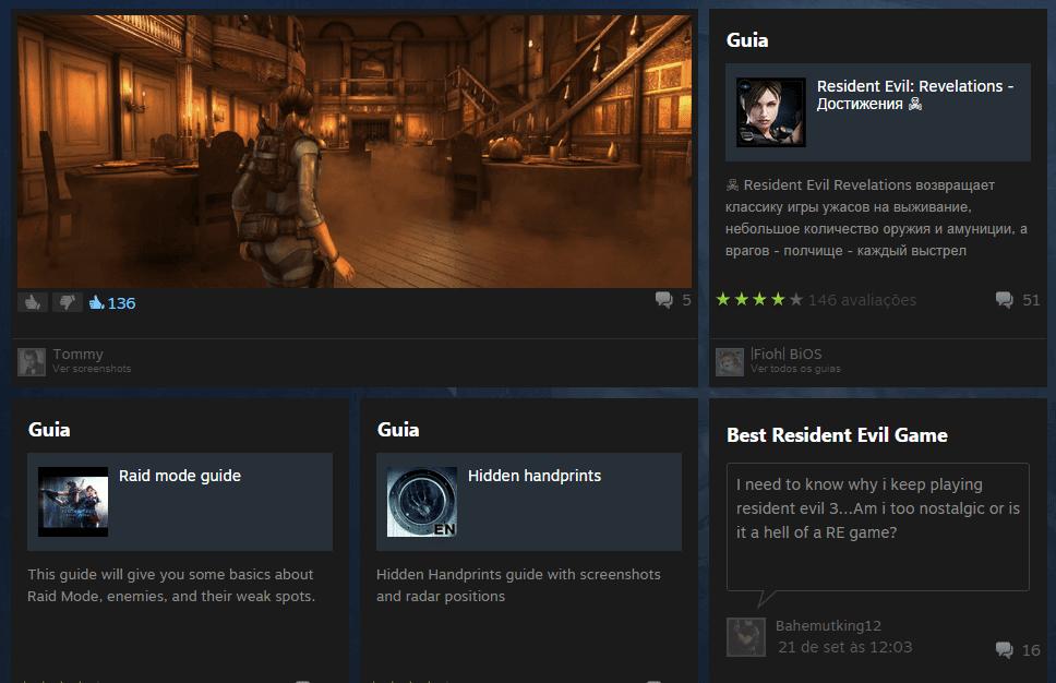 steam central comunidade - Steam: loja é redesenhada e sugere games baseados no seu estilo