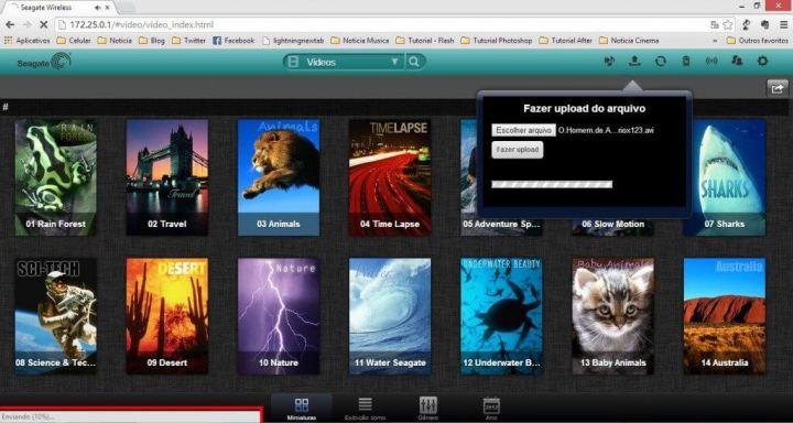 upload wifi 720x384 - Review: HD Wireless Plus da Seagate