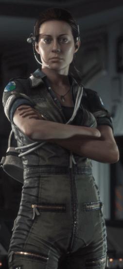 amanda ripley alien isolation ok - Game Review: Alien Isolation - Parte 1