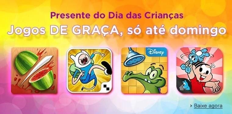 amazon jogos gratis dia das criancas - Dia das Crianças: jogos de graça na Amazon