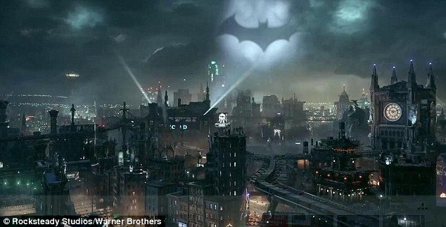 batman burton inc - Companhia japonesa cria Bat-sinal a laser