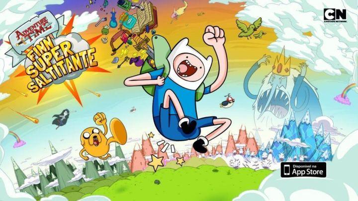 hora de aventura super finn saltitante 720x405 - Dia das Crianças: jogos de graça na Amazon