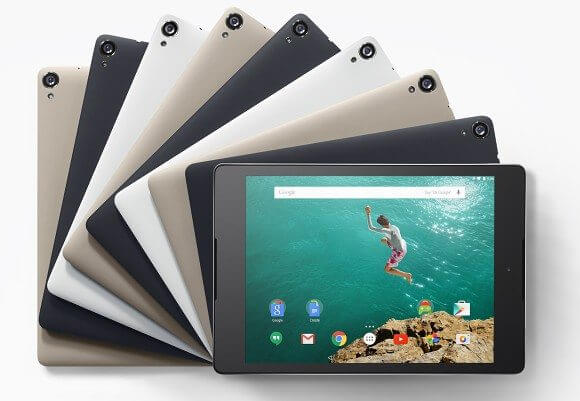 htc nexus 9 - Google anuncia Android 5.0 Lollipop