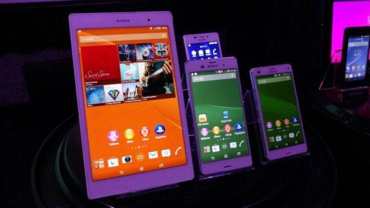 sony apresenta xperia z3 e outras novidades4 720x405 - Sony apresenta Xperia Z3 e outras novidades