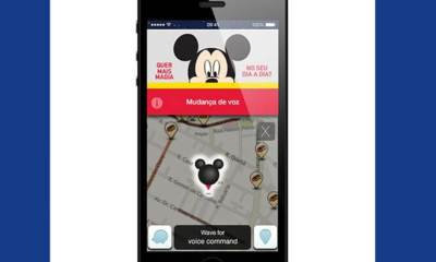 Mickey Mouse é o novo narrador do Waze
