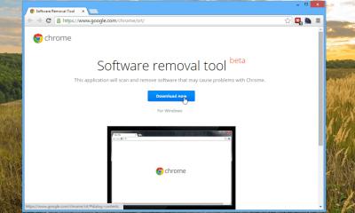 Google Chrome Sofware Removal Tool