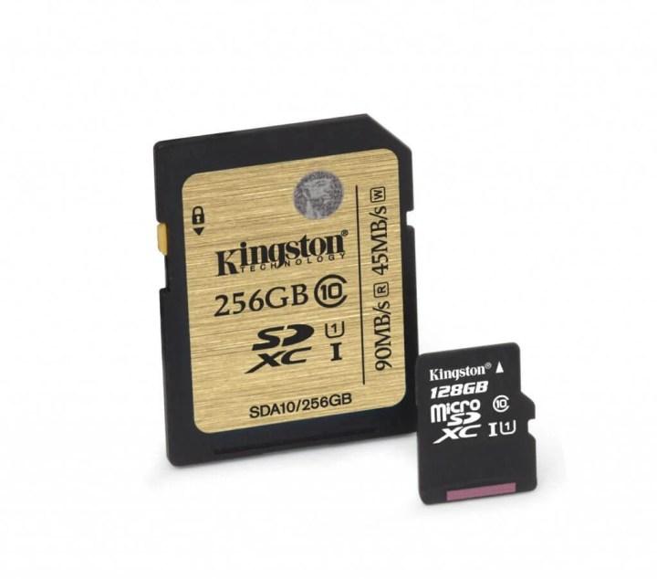 kingston digital class 10 uhs i microsd and class 10 uhs i sdhc sdxc cards debut 1 720x634 - Kingston lança cartões SD e MicroSD de até 256GB