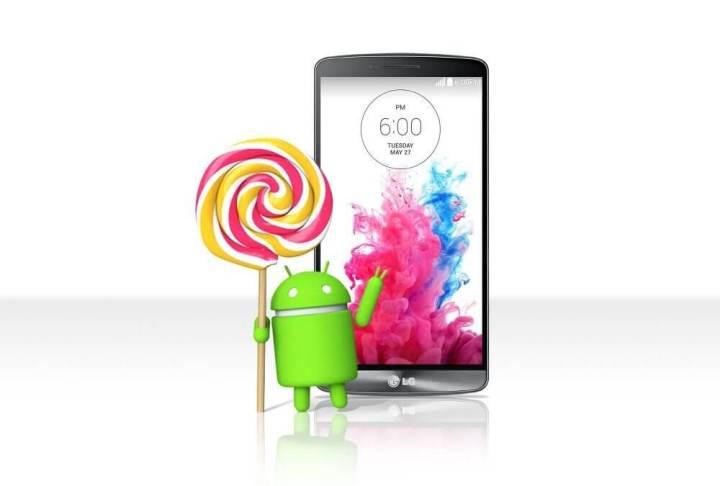 lg g3 lollipop2 720x486 - LG G3 e Moto X começam a receber o Android 5.0 (Lollipop)