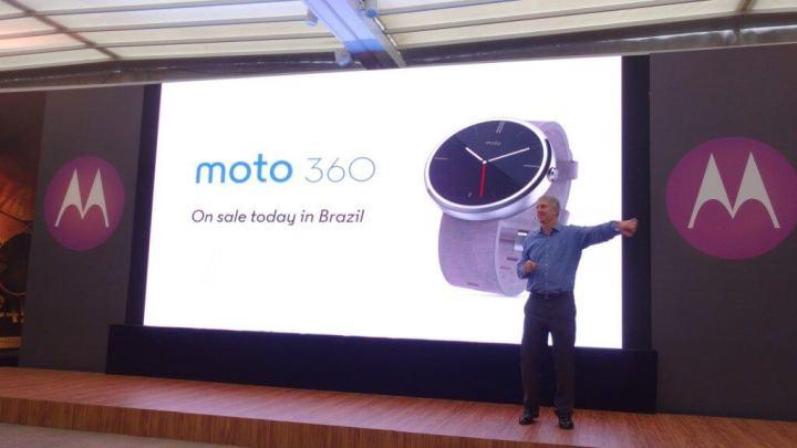 Motorola Moto 360 brasil