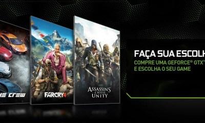 myc - Faça sua escolha: lançamentos da Ubisoft grátis na compra de placas GeForce GTX