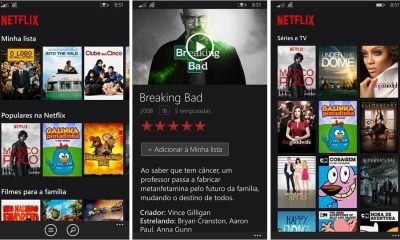 Netflix para Windows Phone