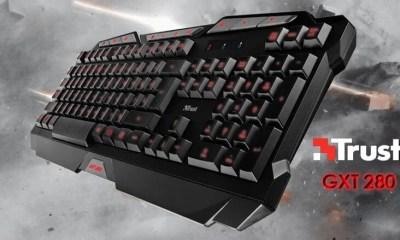 trust gxt 280 keyboard teclado review - Review: Teclado Gamer Iluminado Trust GXT-280