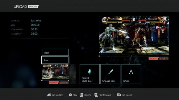 upload studio editing - Upload Studio para Xbox One: será o fim das placas de captura?