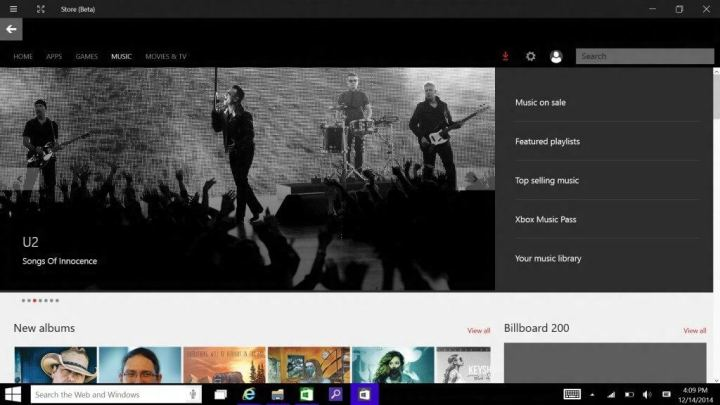 windows store 720x405 - Vazamento revela Cortana e novo aplicativo Xbox para Windows 10
