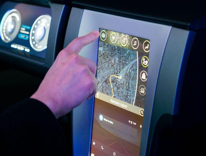 Nvidia mostra seu sistema de entretenimento Tegra X1 para automóveis